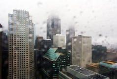 Lluvia de Chicago imágenes de archivo libres de regalías