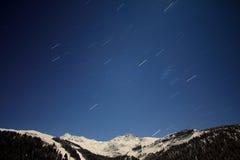 Lluvia de la estrella Foto de archivo libre de regalías