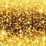 Lluvia de la Navidad de las luces foto de archivo libre de regalías