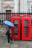 Lluvia de Londres Imagen de archivo