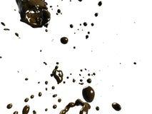 Lluvia del chocolate Fotos de archivo libres de regalías