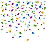 Lluvia del confeti. Vector. ilustración del vector