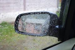 Lluvia del espejo Fotos de archivo