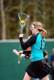 Lluvia del jugador 5 del lacrosse Imagen de archivo