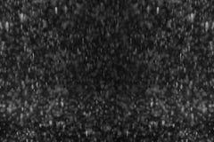 Lluvia en negro Fotos de archivo libres de regalías