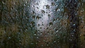 Lluvia en ventana fotos de archivo