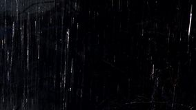 Lluvia oscura almacen de video