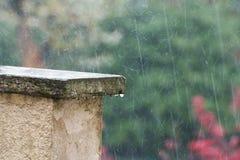 Lluvia pesada Fotografía de archivo