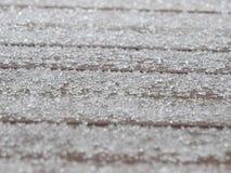 Lluvia sobrefundida en un día frío de marzo Foto de archivo