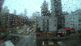 Lluvia Teleférico sobre la calle metrajes