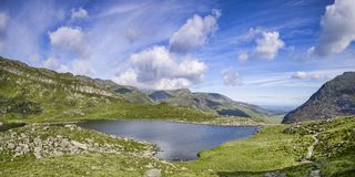 Snowdonia National Park stock photo
