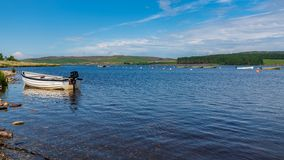 Llyn Brenig, Conwy, Clwyd, Wales, UK royalty free stock images