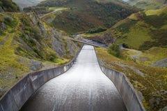 Llyn Brianne-Reservoir Lizenzfreie Stockfotos