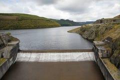 Llyn Brianne-Reservoir Stockbilder