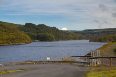 The Llyn Brianne Reservoir Stock Image