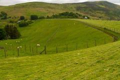 Llyn Celyn reservoir dam Royalty Free Stock Photos