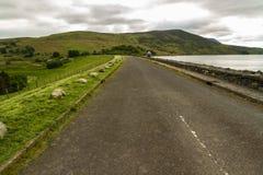 Llyn Celyn reservoir dam Stock Images