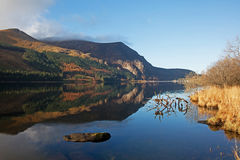 Llyn Cwellyn  off the A4085 Stock Photo