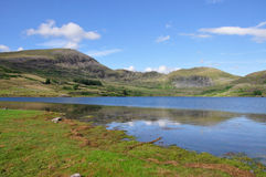 Llyn Cwmystradllyn Royalty Free Stock Photography