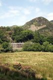 Llyn Dinas Valley near Beddgelert Royalty Free Stock Photo