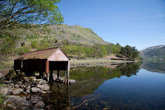 Llyn Gwynant Stock Photography