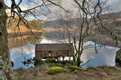 Llyn Gwynant reflections Royalty Free Stock Photography
