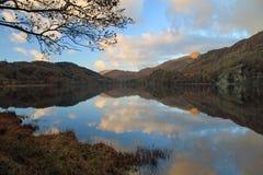 Llyn Gwynant, Snowdonia, Pays de Galles Images stock