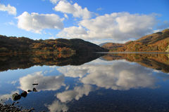Llyn Gwynant, Snowdonia, Wales Royalty Free Stock Photo