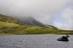 Llyn Idwal Stock Photo