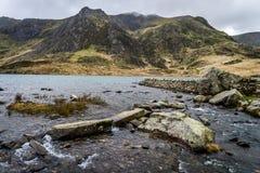 Llyn Idwal, Snowdonia Lizenzfreies Stockfoto