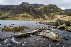 Llyn Idwal, Snowdonia Royalty Free Stock Photo