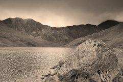 Llyn Llydaw Snowdon Royalty Free Stock Photography