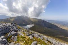 Llyn Marchlyn Mawr Hydro Electric-Reservoir lizenzfreies stockbild
