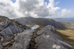 Llyn Marchlyn Mawr Hydro Electric-Reservoir lizenzfreies stockfoto