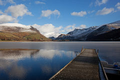 Llyn Nantlle Uchaf Royalty Free Stock Images