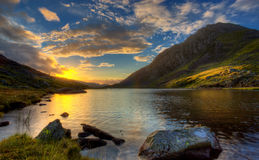 Llyn Ogwen Photographie stock