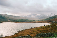 Llyn Ogwen, Snowdonia. A view of Llyn Ogwen in Snowdonia, North Wales, UK Royalty Free Stock Image