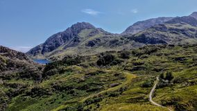 Llyn Ogwen , Snowdonia , royalty free stock photos