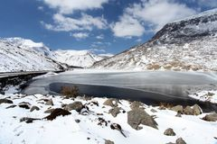 Llyn ogwen Stock Photo