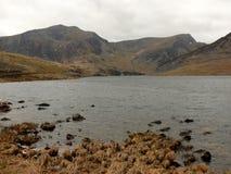 Llyn Ogwen, Snowdonia, Pays de Galles Image stock