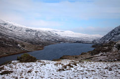 LLyn Ogwen in Winter Royalty Free Stock Photos