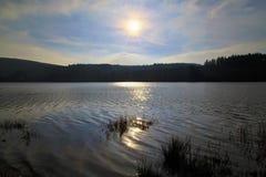 Llyn On reservoir, Nant-ddu, Brecon Beacons National Park. Royalty Free Stock Photo