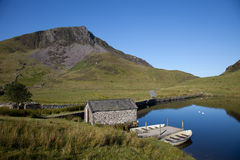 Llyn Y Dywarchen Stock Photography