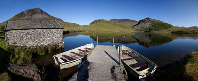 Llyn Y Dywarchen Royalty Free Stock Photo