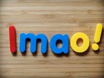 LMAO concept Stock Image