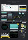 Éléments d'Infographics Photos stock