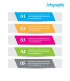 Éléments de conception de bannière d'Infographic Photos stock
