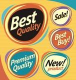 Éléments de web design Image stock