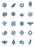 Éléments et dessins de conception Image libre de droits
