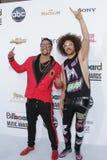 LMFAO à la musique 2012 de panneau-réclame attribue des arrivées, Mgm Grand, Las Vegas, le nanovolt 05-20-12 Photo libre de droits
